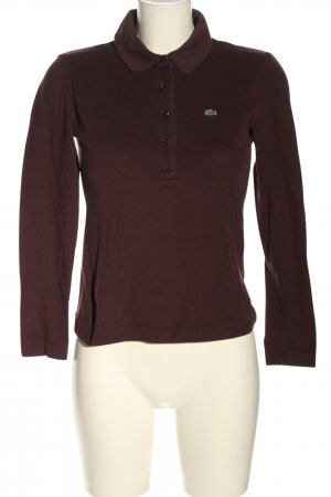 Lacoste Polo-Shirt braun Casual-Look
