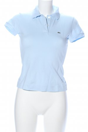 Lacoste Camiseta tipo polo azul look casual