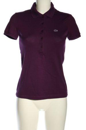 Lacoste Camiseta tipo polo lila look casual