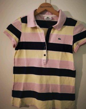 Lacoste Polo Shirt gestreift Retro