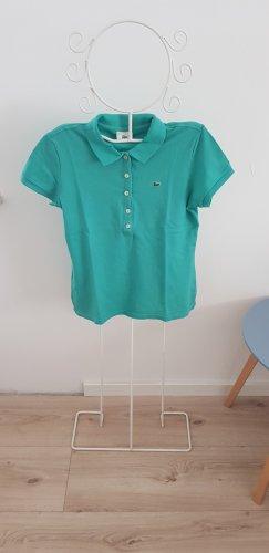 Lacoste Polo Shirt, Größe 42, grün
