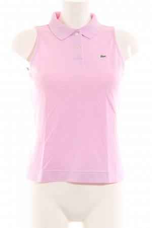 Lacoste Polo Top pink casual look