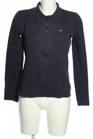 Lacoste Polo Shirt blue casual look