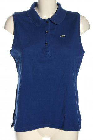 Lacoste Polo Top blue casual look