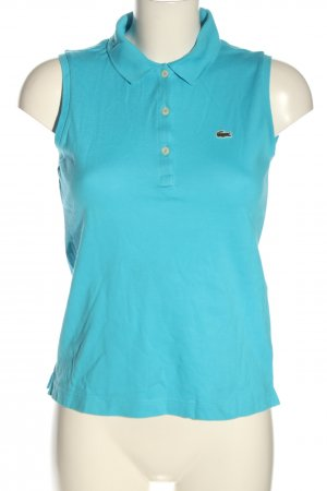 Lacoste Polo Top blau Casual-Look