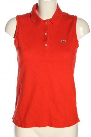 Lacoste Polo Top rot Casual-Look