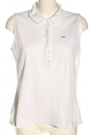 Lacoste Polo Top white casual look
