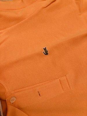 Lacoste Camiseta tipo polo naranja claro-albaricoque