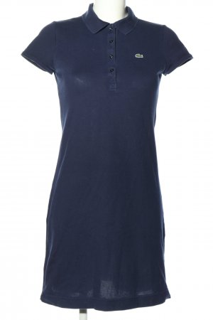 Lacoste Polo Dress blue casual look