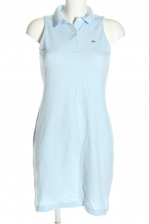Lacoste Polokleid blau Casual-Look