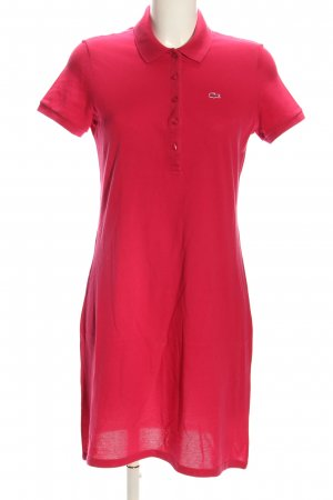 Lacoste Polo Dress pink casual look