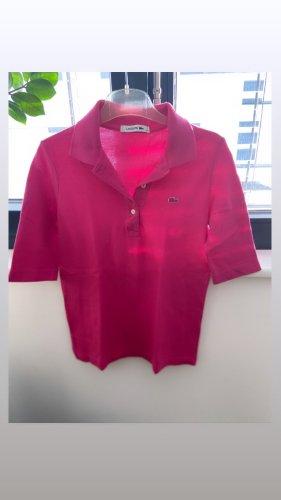 Lacoste Camiseta tipo polo rosa