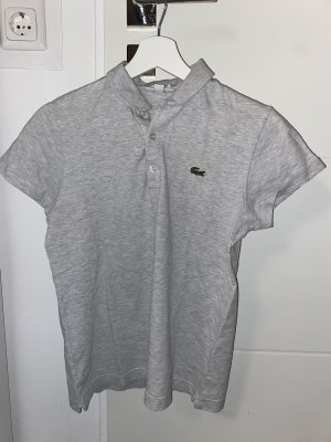 Lacoste Polo Shirt silver-colored-light grey