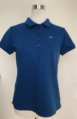 Lacoste Poloshirt, blau, Größe 46