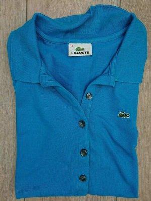 Lacoste, Poloshirt, Damen, Gr 44, Königsblau, Piqué NP 89€