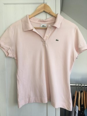 Lacoste Poloshirt Gr.38 rosa