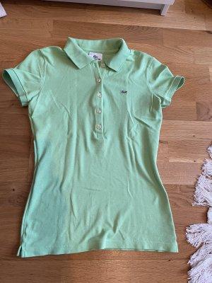 Lacoste Poloshirt Größe 36 S hellgrün neu