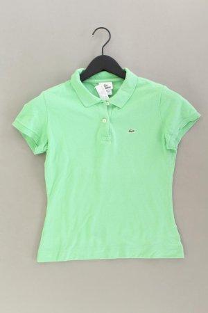 Lacoste Poloshirt Größe 40 Kurzarm grün aus Baumwolle
