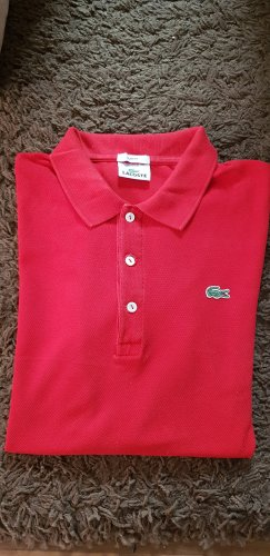 Lacoste Polo shirt rood