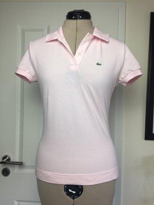 Lacoste Poloshirt in Rosé, Gr 42, fällt aus wie 38