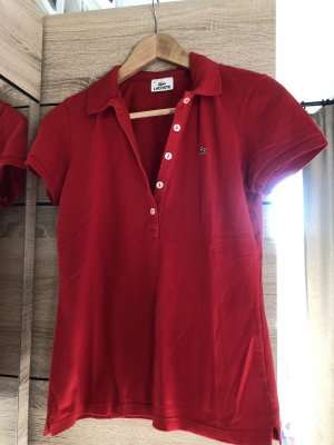 Lacoste Poloshirt in signalrot