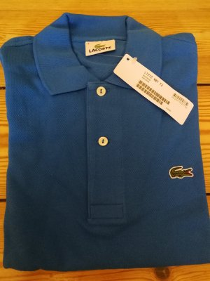 Lacoste Polo shirt neon blauw