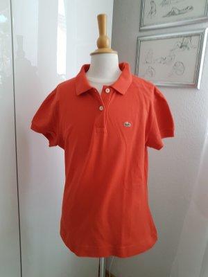 Lacoste Poloshirt orange Größe 40 42