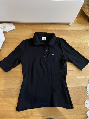 Lacoste Poloshirt schwarz Größe 36 S wie neu