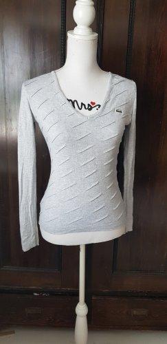 Lacoste V-Neck Sweater light grey