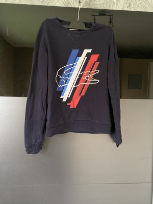 Lacoste Sweat Shirt dark red-dark blue