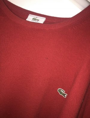 Lacoste Pullover Rot