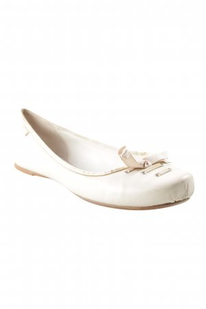 Lacoste Strappy Ballerinas cream casual look