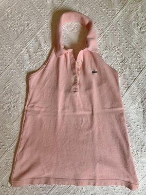 Lacoste Top schiena coperta rosa pallido