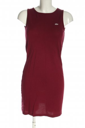 Lacoste Schlauchkleid rot Casual-Look