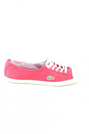 Lacoste Schnürschuhe rot Casual-Look