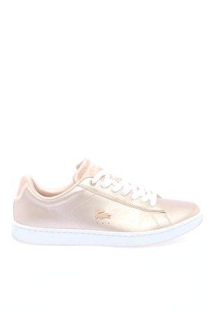 Lacoste Sneaker stringata crema stile casual