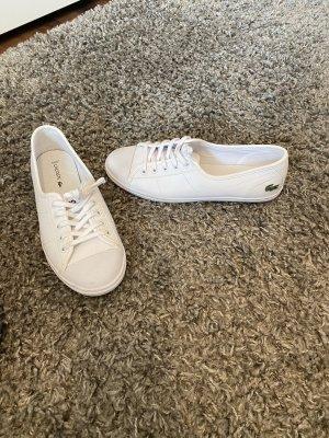 Lacoste Schuhe 38 weiß