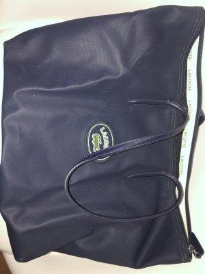 Lacoste Shopper Handtasche Große Tasche Dunkelblau