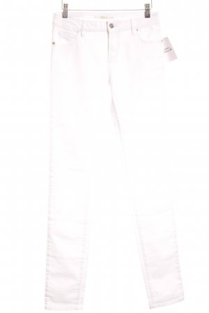 Lacoste Skinny Jeans weiß Casual-Look