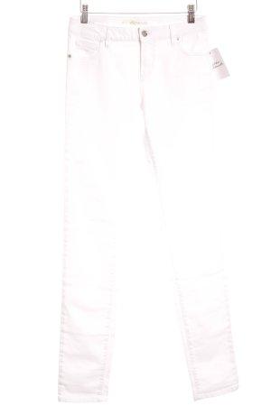 Lacoste Vaquero skinny blanco tejido mezclado