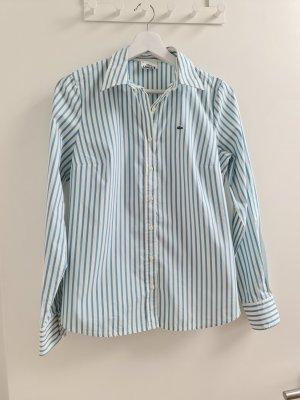 Lacoste Slim Fit Bluse gestreift Gr. 38/40