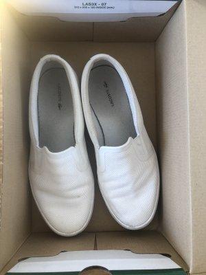 Lacoste Sneaker slip-on bianco
