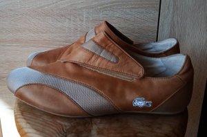 LACOSTE Sneaker, Braun, Leder, Gr 40,5 - SUPER CHIC