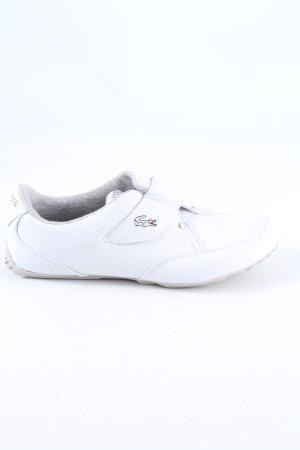 Lacoste Trampki na rzepy biały W stylu casual