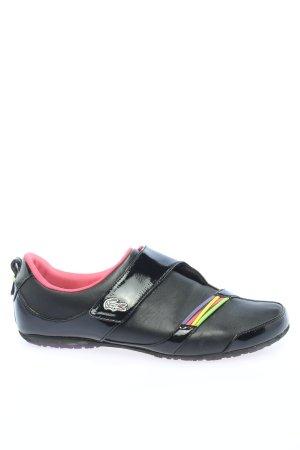 Lacoste Sneaker Klettverschluss schwarz Casual-Look