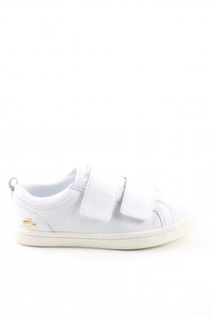 Lacoste Zapatillas con velcro blanco look casual