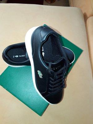 Lacoste - Sneaker Leder - schwarz/weiß - NEU & OVP