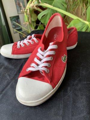 Lacoste sneaker Rot
