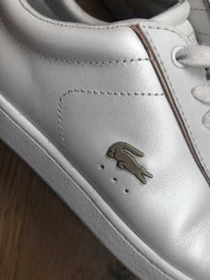 Lacoste Sneaker weiß/glossy