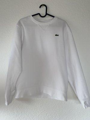 Lacoste Crewneck Sweater white